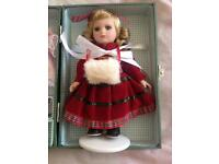 Victoria porcelain collectable pot doll and certificate