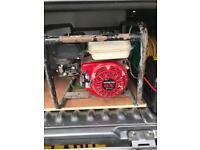 Honda gx200 petrol generator 110 and230v