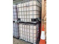 1000L water storage tank IBC