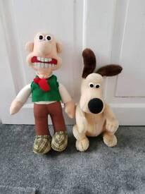 Authentic Wallace and Gromit Plush Toys