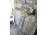 Free Feather board fencing. 3 x 3m panels in good condition. Ideal for recycling or a bonfire