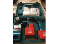 Brand new Cordless drill with 2 battery