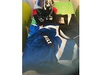 Bilt Motocross Helmet, Jersey and Pants. Oakley Goggles as new.