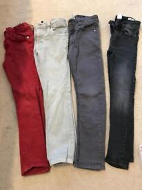 Boys NEXT Skinny Fit Jeans - Age 7 & 8