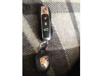 Found a porsche key