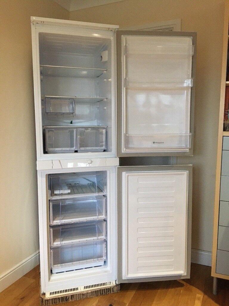 Hotpoint Integrated Fridge Freezer HRF3114