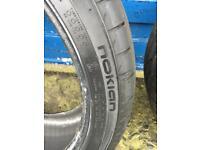225/40/18 tyres - Nokian Zline
