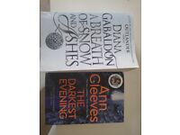 Outlander and Vera books