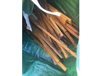 Free timber off cuts