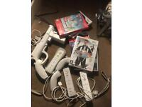 Wii +controlls +games