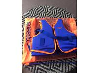 SPEEDO SWIM LIFE VEST CHILDRENS AGE 2-3