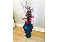 """Vase with """"twig flowers"""" - FREE"""