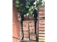 Shed full of 1950's house bricks.
