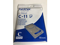 Brother C-11 A7 Thermal Print Paper