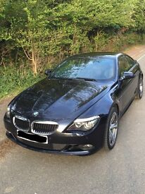 Carbon Black BMW 6 SERIES 3.0 635d Sport Auto 2door Coupe in great condition.