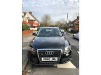 AUDI Q5, Black. Clean inside and out, just been valeted. 1 year MOT. FSH.