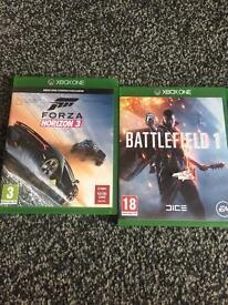 Xbox one games battlefield 1 forza horizon ghost recon fallout 4