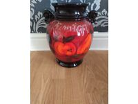 Large vase made in west germany