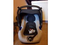 Jane car seat and isofix