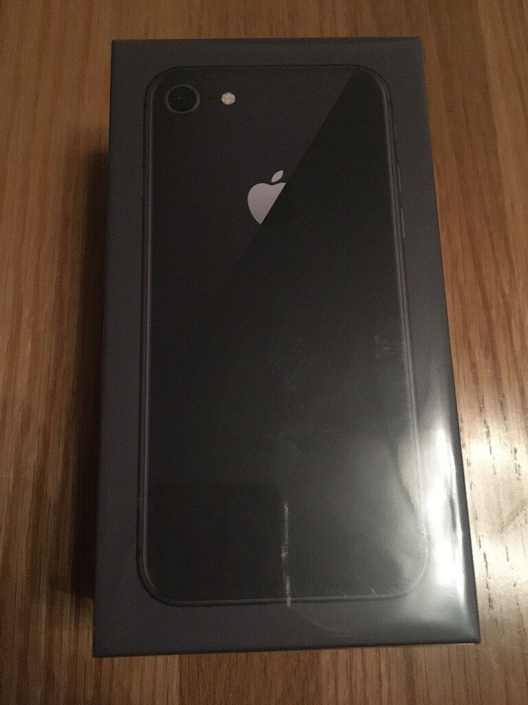 iPhone 8 64gb space grey - new and unopened