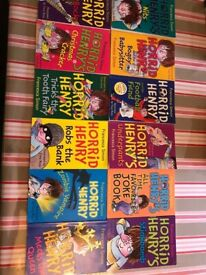Collection of 28 Horrid Henry Books