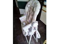 Mothercare highchair used in good condition