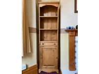 Solid Pine Display Cabinet / Storage Unit / Dresser
