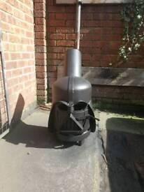 Darth Vader wood burner
