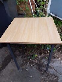 Wood effect School exam tables / Office side tables / small workstation / training tables