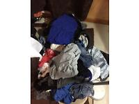 Men's clothes (massif amount) excellent For urself of a car boot.