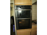 Built in gas oven and gas grill
