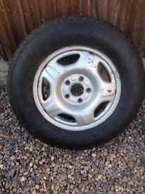 Wheel and brand new Tyre for Honda CR-V