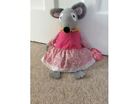Bagpuss Large Lizzie Mouse Soft Toy New with Tags