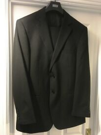Mens black M&S suit