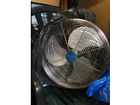 BRAND NEW NEVER USED Powerful Fans x2