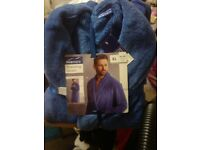 New mens dressing gown never been opened