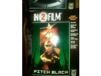 In 2 film tm the x men and pitch black vin diesel no 32 and 37 souvenir's film programe s