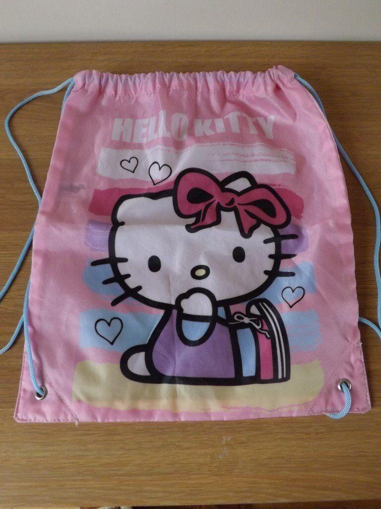 c8d0b7b615a6 Hello Kitty Swim  Gym Bag