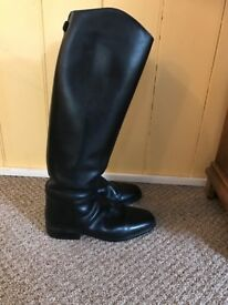 Cavello long black riding boots size 9
