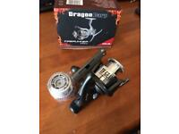Brand new Dragon Carp fishing reel