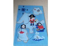 Boys Pirate 100% wool Rug from Next