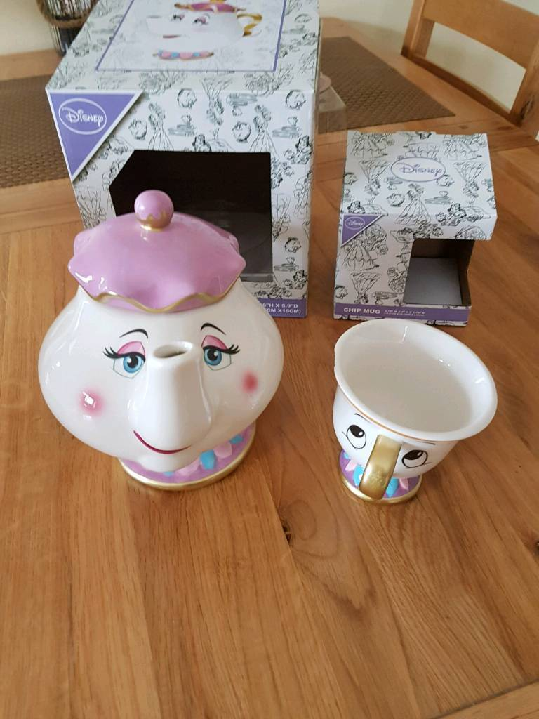 Beauty and the beast mrs pot and chip