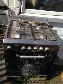Baumatic gas cooker