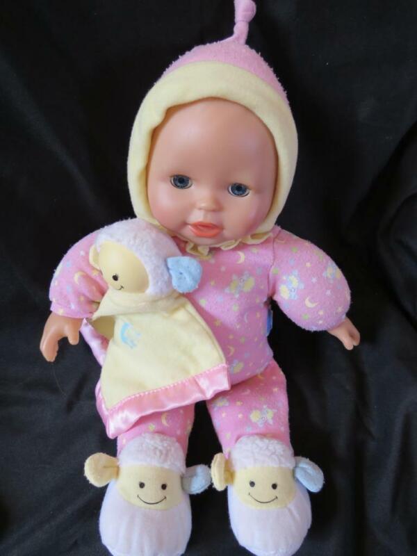Fisher Price Little Mommy Bedtime Baby Lamb Lullabye Light Up Musical Doll