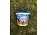 Ronseal fence life plus +