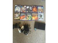 PS2 with games (SMS only)