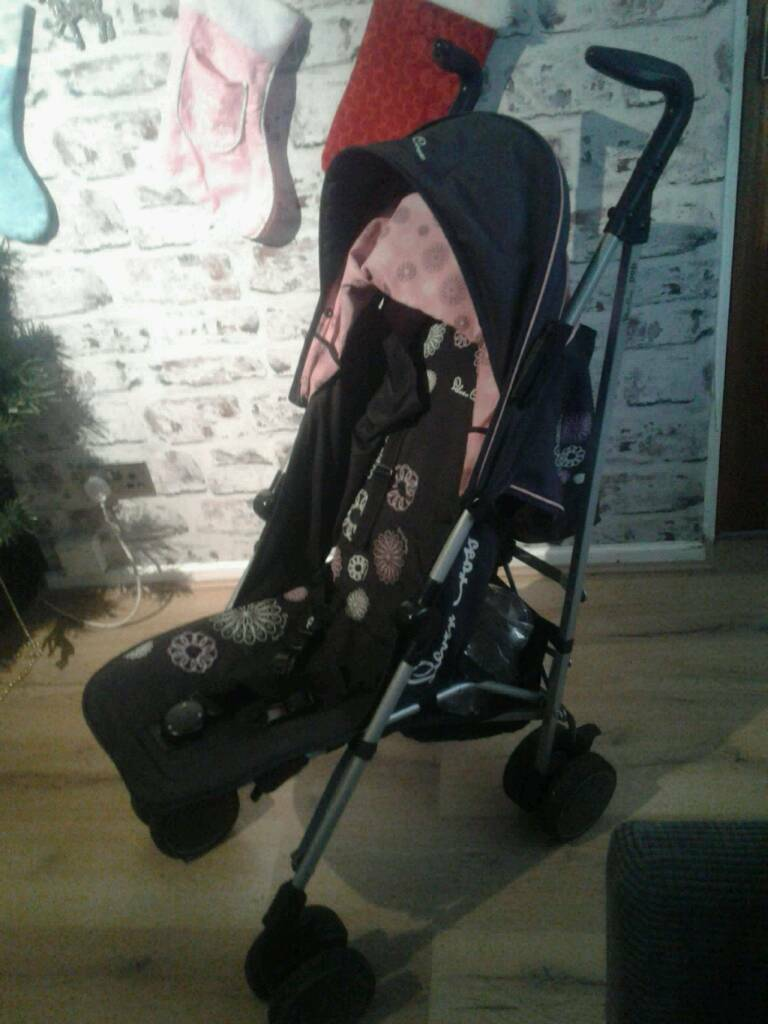 Silver cross buggy used condition