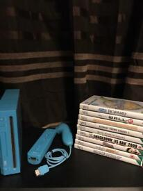 Nintendo Wii blue motion plus console