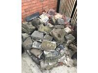 Free bricks/stone