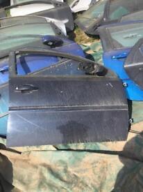 Vauxhall VECTRA 2005 dsf dark blue door 5DOOR